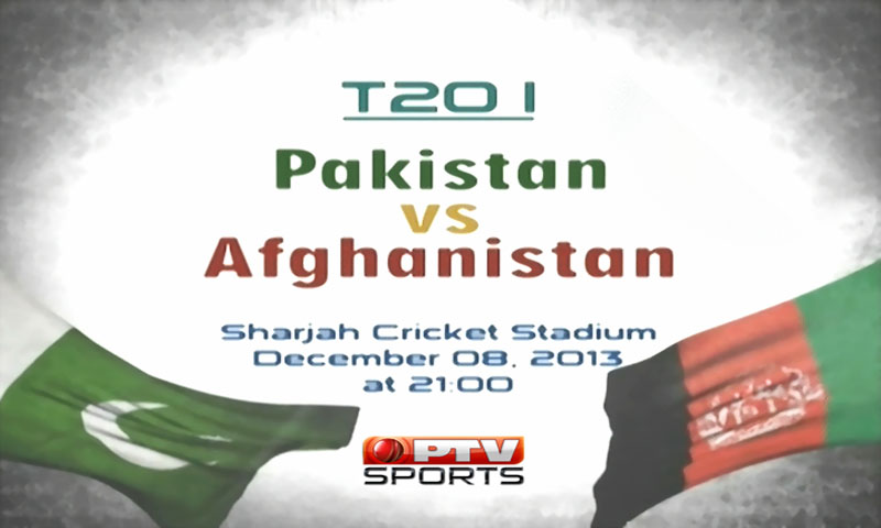 Sharjah: Pakistan vs Afghanistan, Watch Only T20 Cricket Match 8th December 2013