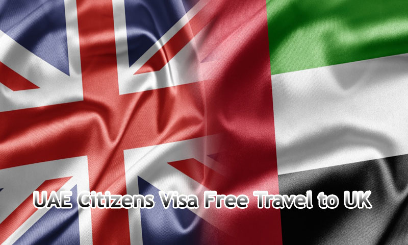 Visa-free travel to United Kingdom for Emiratis from January 1