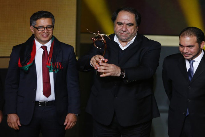 Afghanistan wins FIFA Fair Play Award 2013