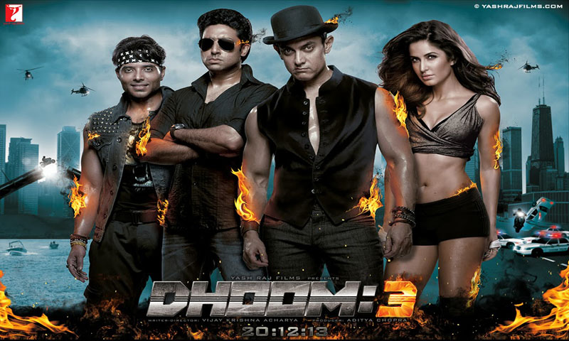 Dhoom 3 first in Bollywood to mint Rs. 500 crores