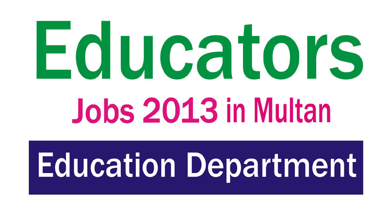 Punjab School Educators Jobs in District Multan