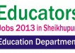 Punjab Educators Jobs 2013-2014 in Sheikhupura