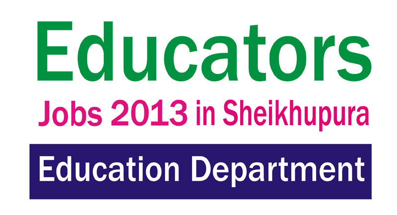 Punjab School Educators Jobs in District Sheikhupura