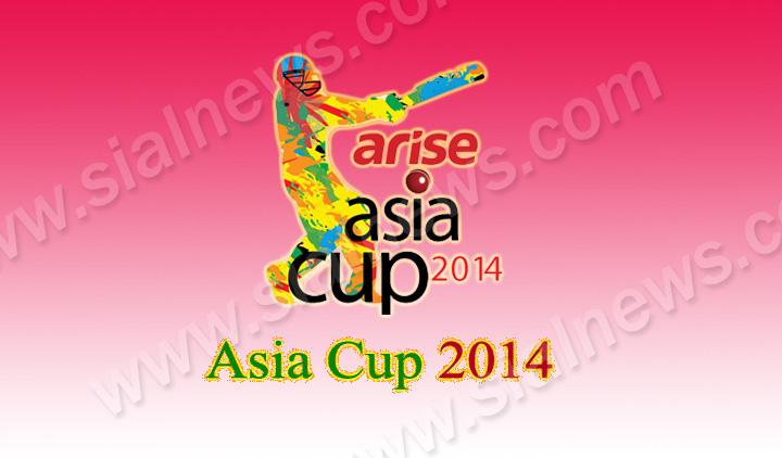 Asia Cup 2014 Match Schedule & Fixtures