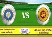 India vs Sri Lanka 4th ODI Match Asia Cup 2014 Live Streaming
