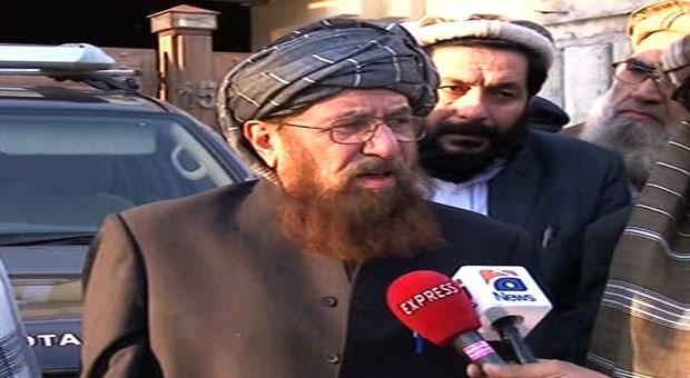 All TTP groups supported peace process: Maulana Sami ul Haq