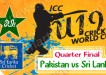 Pakistan vs Sri Lanka Quarter Final Match Under-19 World Cup 2014 Live Streaming