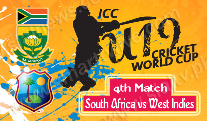 South Africa vs West Indies, Watch 4th Cricket Match ICC Under-19 World Cup 2014