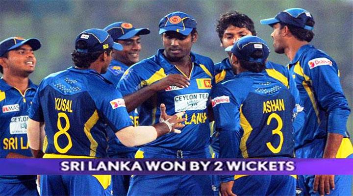 Kumar Sangakkara steers Sri Lanka to dramatic win over India in Asia Cup