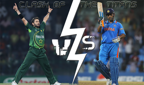 Pakistan, India T20 Clash of Titans