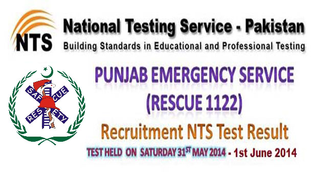 Rescue 1122 NTS Test Result 2014