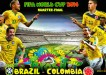 Brazil vs Colombia World Cup 2014 Quarter Final Match Preview
