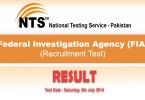 FIA NTS Test Result 2014