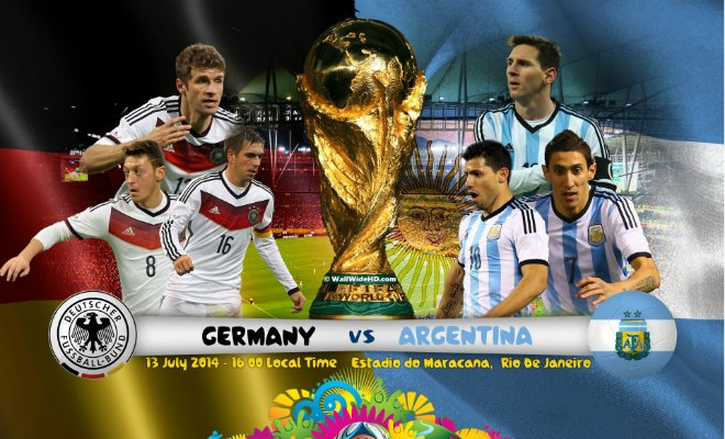 Germany vs Argentina World Cup 2014 Match Live – Preview