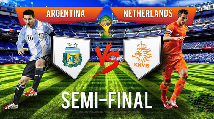 Netherlands vs Argentina World Cup 2014 Semi Final Match Preview