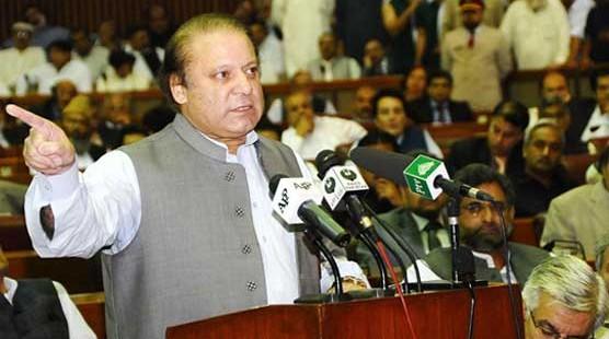 PM Nawaz Sharif likely to address National Assembly today