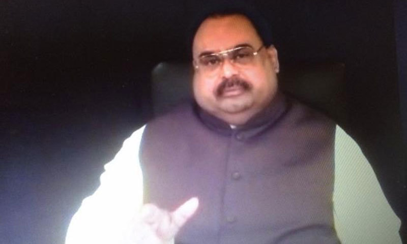 Altaf asks army what it expects MQM to do