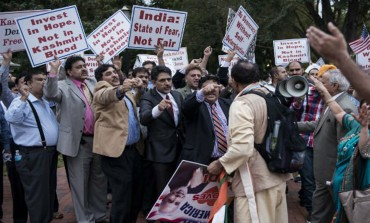 Kashmiris, Sikhs protest outside White House against Modi