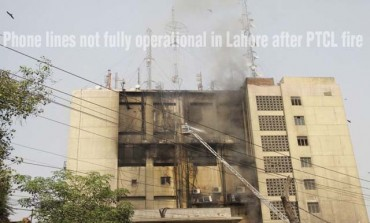 Phone lines not fully operational in Lahore after PTCL fire