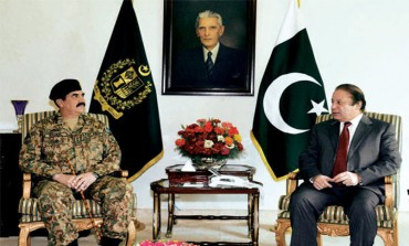 PM, Army chief discuss Operation Zarb-e-Azb