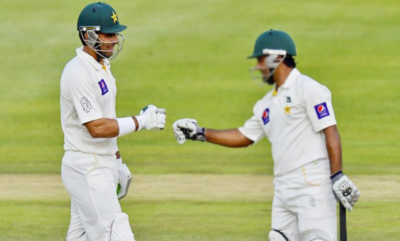 Asad, Misbah take Pakistan to strong position