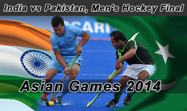 India vs Pakistan Hockey Final Match