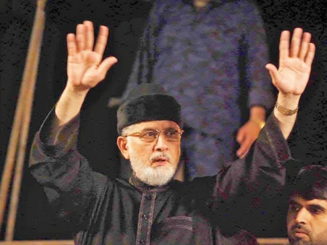Tahirul Qadri ends demo in Islamabad, announces next sit-in in Karachi