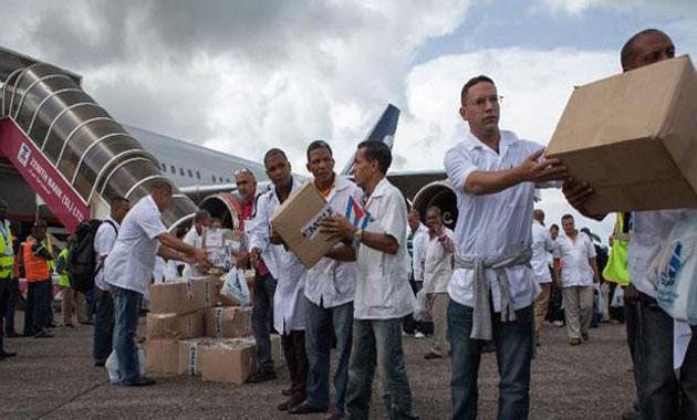 Cuban sent to fight Ebola in Guinea dies of malaria