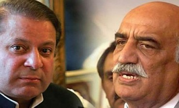 PM Nawaz, Khursheed Shah discuss appointment of CEC