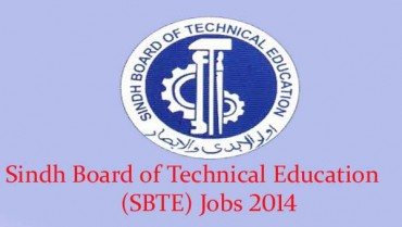 Sindh Board of Technical Education (SBTE) Jobs 2014