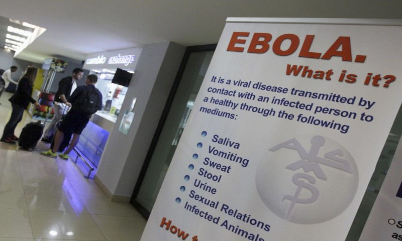 Health officials hold suspected Ebola patient at Karachi airport