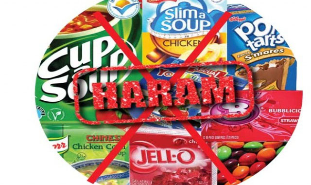 19 imported food items deemed 'Haram'