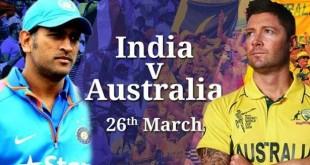 India vs Australia 2nd Semi Final Match