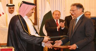 Pakistan, Qatar sign accords
