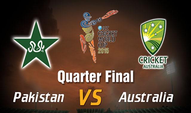 Pakistan vs Australia Quarter FInal Match World Cup 2015