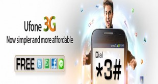 Ufone New 3G Packages
