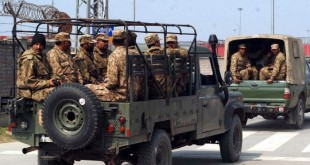Army deployed in Lahore Cantt.