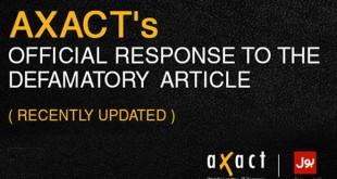 Axact official response