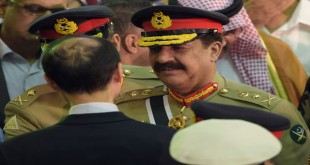 General Raheel Sharif in Germany