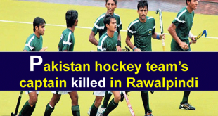 Junior Hockey Team Captain Killed