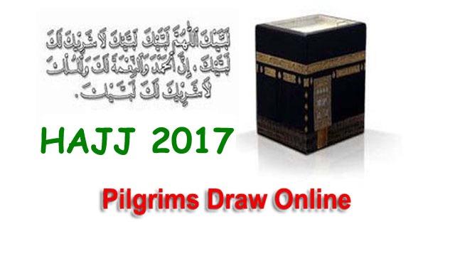 Hajj 2017 Selected Pilgrims Draw Final List Online - SIAL NEWS