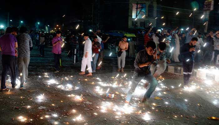 Celebrations all around Kashmir