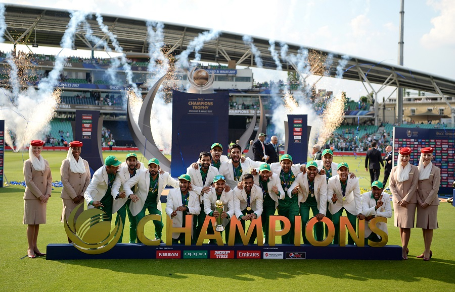 Pakistan Win ICC Champions Trophy Final