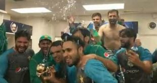 Pakistan Champions Trophy Celebrations in Videos