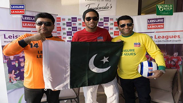 Pakistan ready to welcome Ronaldinho