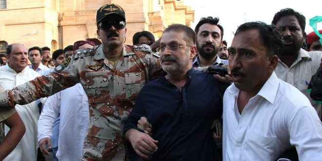 NAB Arrest Sharjeel Memon in Rs. 5.77 Billion Corruption Case