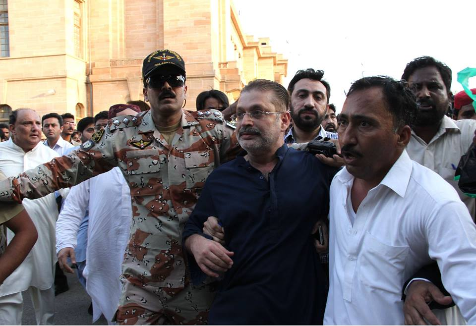 Nab Arrest Sharjeel Memon