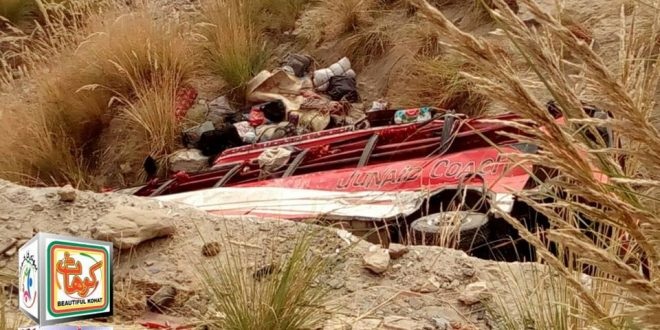 Kohat Bus Fall into Ravine 30 Passenger Killed, Over 60 Injured