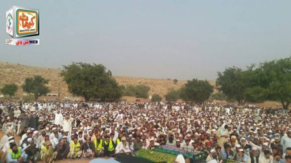 Kohat Bus Fall into Ravine, Namaz Janaza Offered (1)
