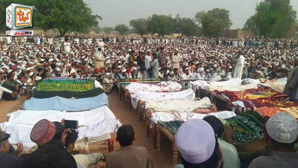 Kohat Bus Fall into Ravine, Namaz Janaza Offered (4)